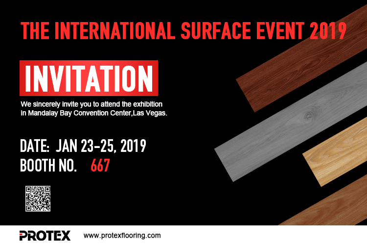 PROTEX FLOORING Invite You to Attend The International SURFACE Event